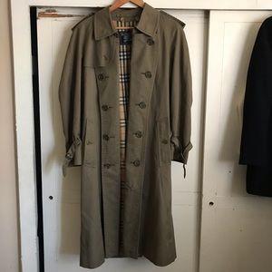Burberry Olive Green Coat